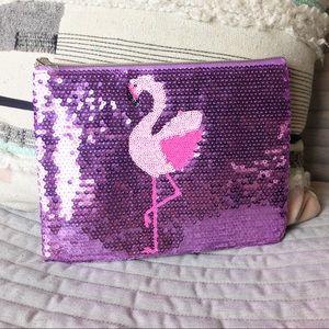 NWOT TARTE // Flamingo makeup bag
